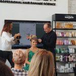 Na szkoleniach L'Oréal Professionnel