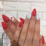 Manicure na Walentynki Mińsk Mazowiecki